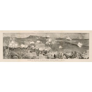 Boer War - Panorama of the Battle of Colenso