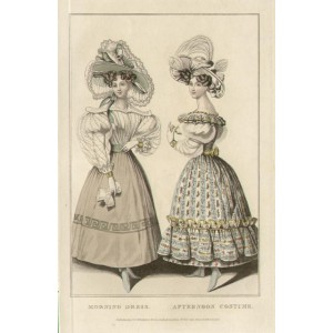 La Belle Assemblee - Morning Dress / Afternoon Costume
