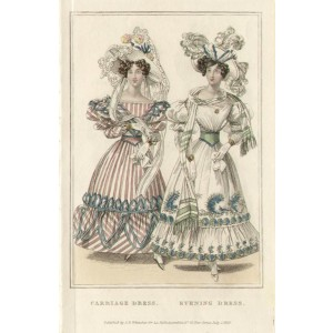 La Belle Assemblee - Carriage / Evening Dress