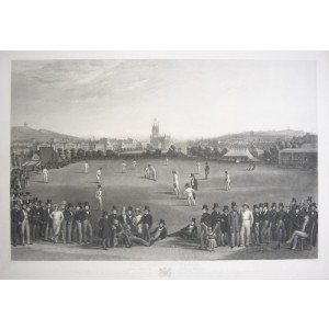 The Cricket Match between Sussex & Kent, at Brighton