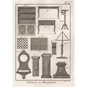 Ebeniste et Marqueterie (Cabinet-making and marquetery)