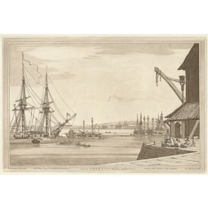 View of Greenwich from Deptford Yard