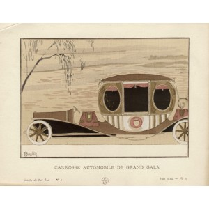 Gazette du Bon Ton - Carousse Automobile