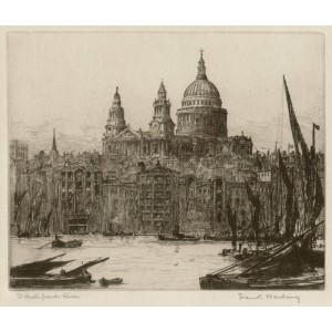 St Paul's from the River