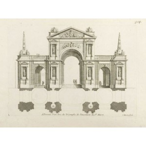 French Triumphal Arch Design