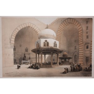 Roberts - Mosque of Sultan Hussan, Cairo