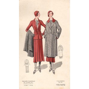 French 1930s Fashion Design