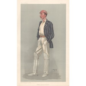Vanity Fair Cricket - Lionel Palairet