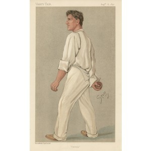 Vanity Fair Cricket - Samuel Woods