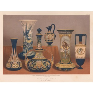 Majolica Ware by M Jean, Paris
