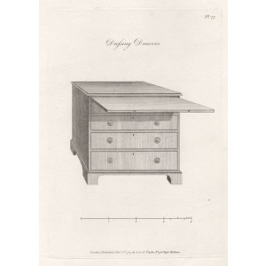 Hepplewhite - Dressing Drawers
