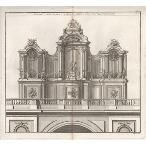 Elevation Geometralle d'Un Buffet D'Orgue d'Une Nouvelle Decoration