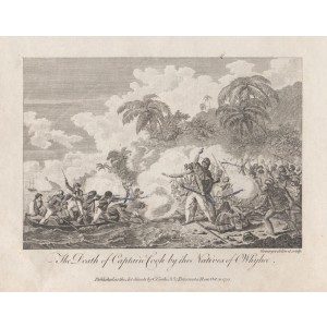 The Death of Captain Cook by the Natives of Owhyhee