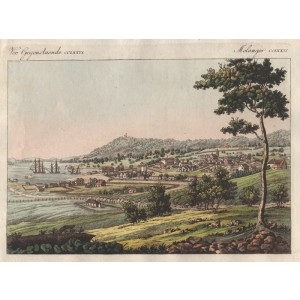 View of Hobart in Van Diemen's Land