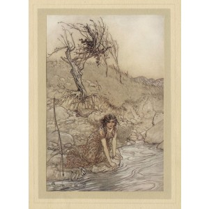 Rackham - Hermia Act 1 Scene 1 Midsummer's Night Dream