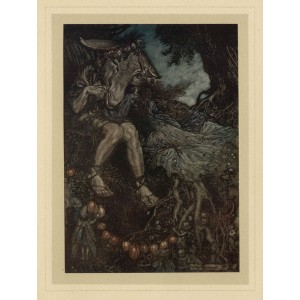 Rackham -  Act IV, Scene I  Sleep thou, and I will wind thee in my arms. Midsummer's Night Dream