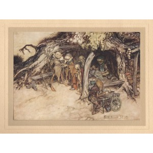 Rackham -  Act II, Scene II To make my small elves coats. Midsummer's Night Dream
